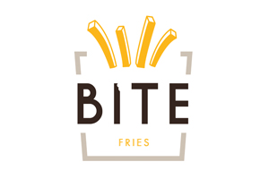 BITE Fries Logo Design