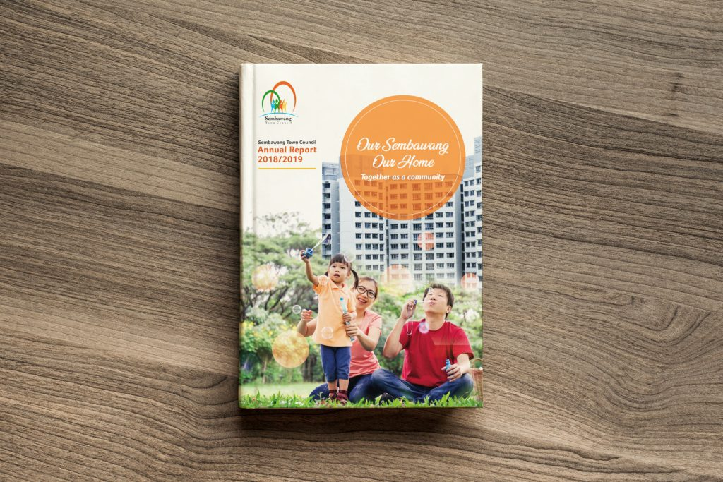 Sembawang Annual Report Design 2018